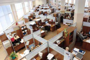 travail architecture intérieur bâtiment Bureau Entreprise Design d'intérieur Hommes à l'intérieur conception femmes complexe Russie employés ouvriers des ordinateurs Cabines