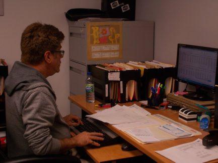 Employé, Comptable, Travail, Bureau, Ordinateur