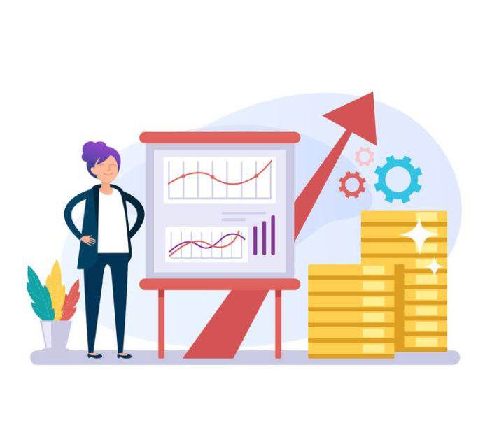 Croissance des gains en ligne sur Ai.Marketing